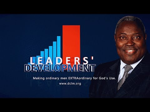 Leaders' Development (23/10/2018) Seven Habits of Great Achievers for God