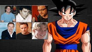 "Characters Voice Comparison - ""Goku"""