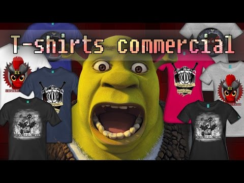 T-Shirts Commercial!