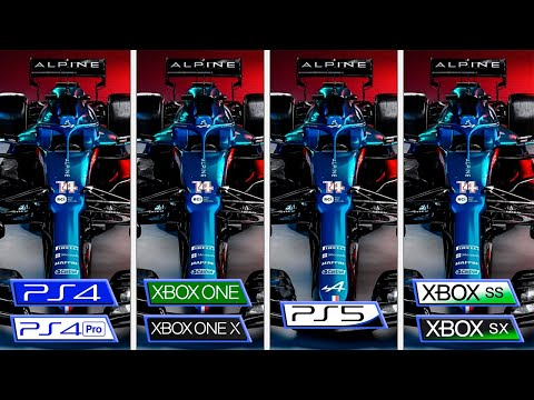 F1 2021   Xbox One - Xbox Series - PS4 - PS5   Graphics Comparison & FPS