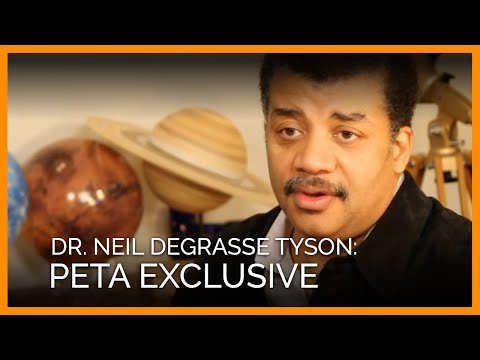 Dr. Neil deGrasse Tyson s Exclusive PETA Interview