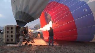 Kapadokya'da balon turları tekrar başladı