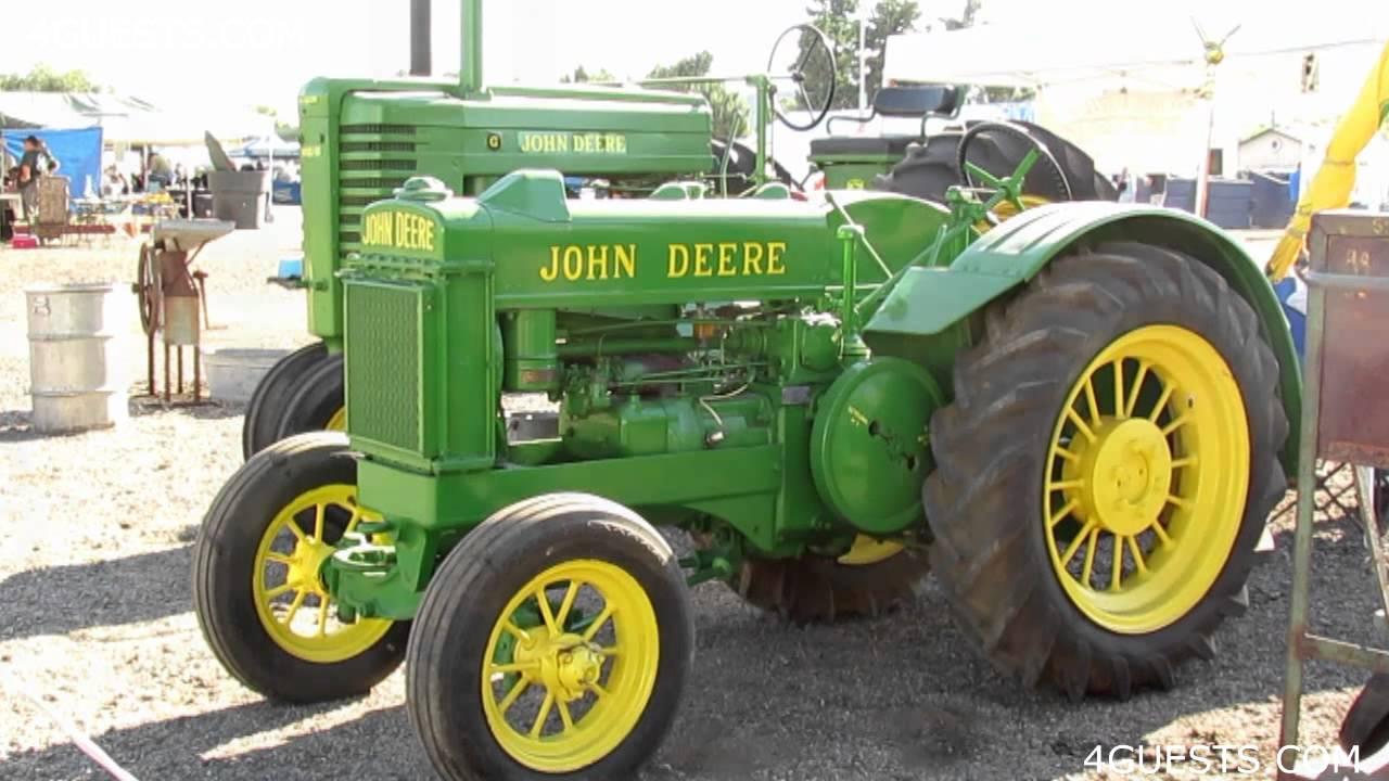 Rare John Deere Tractors : Antique john deere tractors youtube