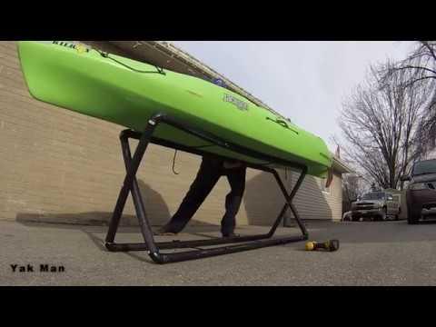 How To Make A Kayak Stand
