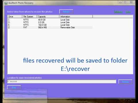 Recover deleted photo video files from android phone/tablet Internal Memory