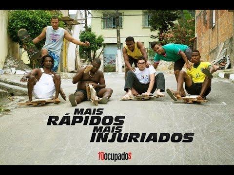Mais Rapidos e Mais Injuriados (CARRINHO DE ROLIMÃ)