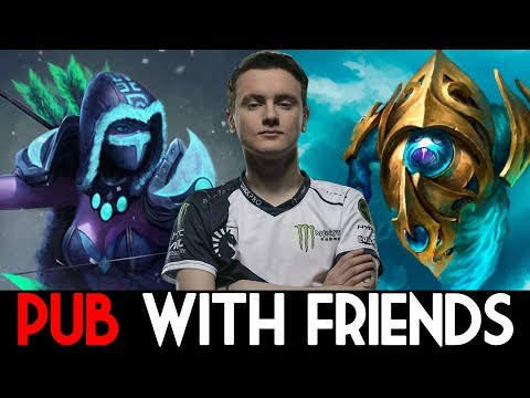 Miracle- Dota 2 [Drow Ranger] & [Morphling] 2 Games Pub with Friends