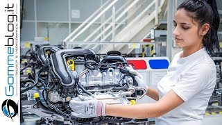 Audi ENGINE - Car Factory Production Assembly Line