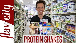 The BEST Protein Shakes On The Market - Dairy & Plant Based