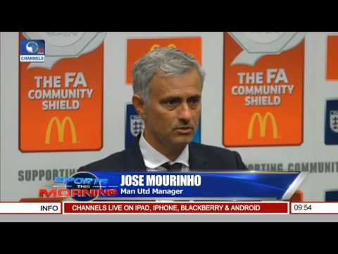 Sports This Morning: New United Manager, Mourinho On Silverware Victory, Pogba Transfer
