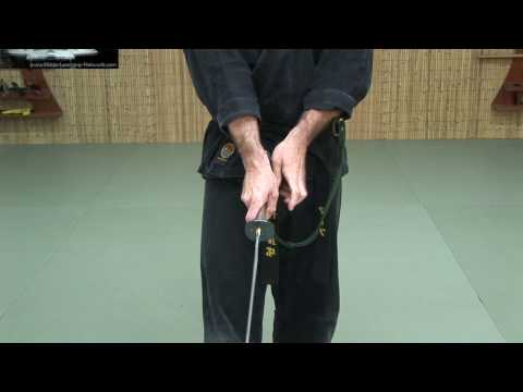 Katana 2 - Nuki Drawing the Sword continued - Free Ninjutsu Lesson Online Image 1