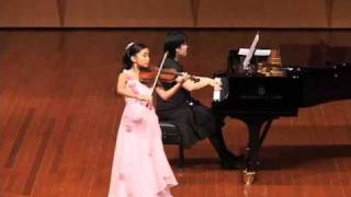 J S Bach Concerto No 1 In A Minor 1st Movement By Shalynn Tsai