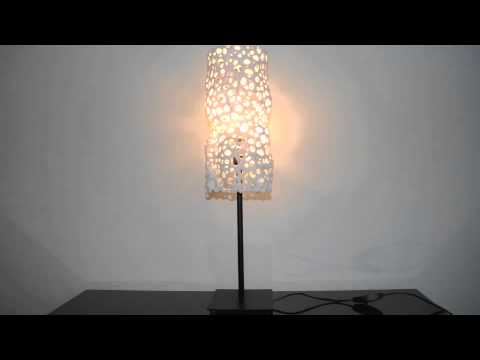parametric | art - 'Voronoi Flow' 3D printed generative lampshade designed by bonooobong