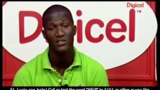 Darren Sammy West Indies Cricketer From St Lucia - Digicel Haiti Relief Fund