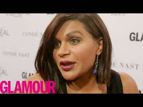 Mindy Kaling Wants to Smoke Weed with Rihanna   Glamour