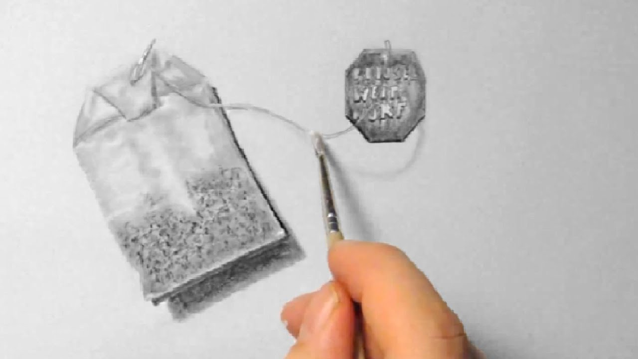 Tea Bag Drawing Tea Bag Drawing in Fast