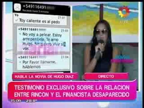 """La ex del financista desaparecido: """"Hugo y Andrea tenían una relación"""""""