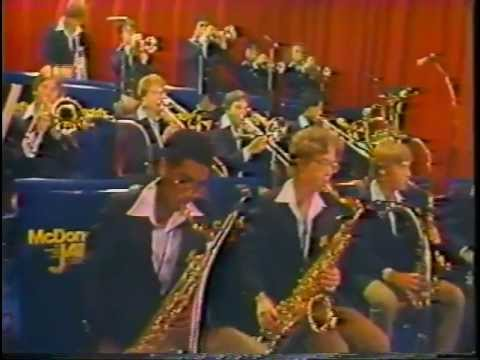McDonald's All American High School Jazz Band 1981 Music Videos