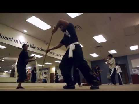 Shaolin Kung Fu Staff Weapons Training Image 1