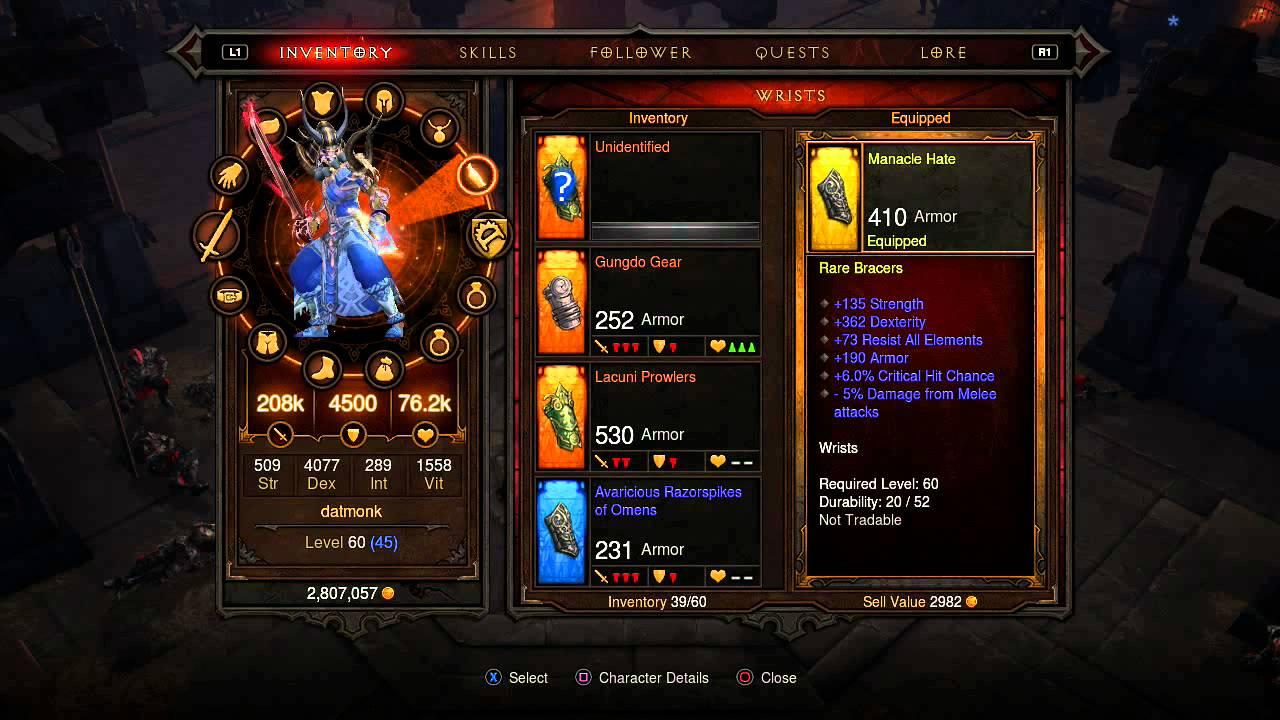 Best Monk Builds Diablo