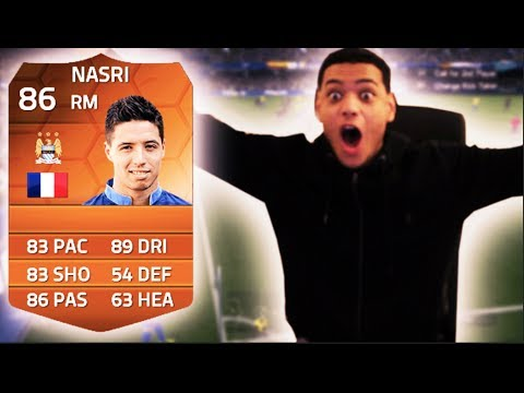 RAGEEEE MOTM NASRI PINKSLIPS! Fifa 14 Ultimate Team Man Of The Match