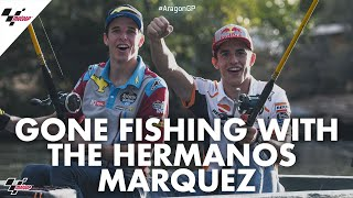 Gone fishing with the Hermanos Marquez | 2019 #AragonGP