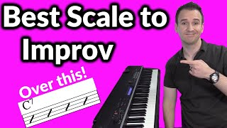 The Best Scale for Improv on Dominant 7 Chords!