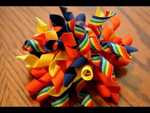 How to make a KORKER HAIR BOW (tutorial)