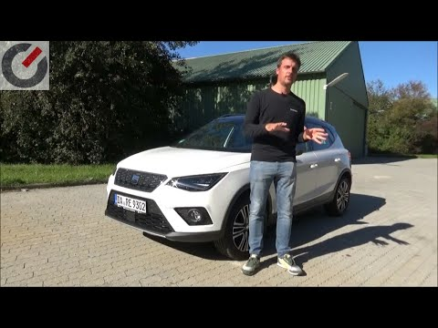 Seat Arona 2018 Xcellence 1.0 TSI 85 kW / 115 PS Fahrbericht / Test / Review