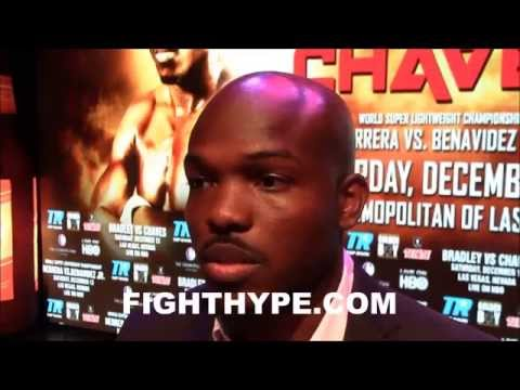 TIMOTHY BRADLEY WARNS DIEGO CHAVES YOU DONT WANT TO MESS WITH ME WITH DIRTY TACTICS