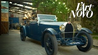 L'Art Novo: Bugatti's glorious past is alive at Garage Novo