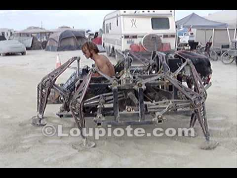 Burning Man 2009 - The Mondo Spider - Walking Machine