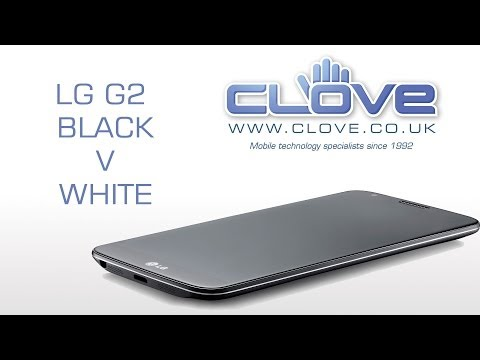 LG G2 Black V White (Comparison)