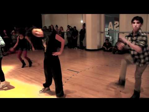 Chris Brown - Turnt Up Choreography by: Dejan Tubic, Janelle Ginestra, & Brooke Shepherd.