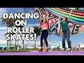 HOW TO DANCE ON ROLLER SKATES FOR BEGINNERS Ep 16 Planet Roller Skate mp3
