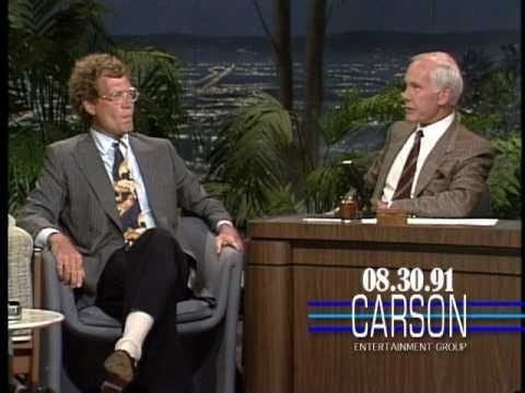 David Letterman Talks with Johnny Carson about Jay Leno Hosting