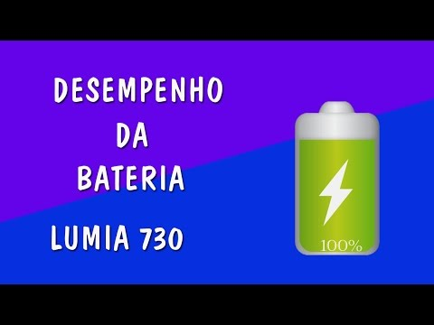 Lumia 730 - Desempenho da Bateria - PTBR