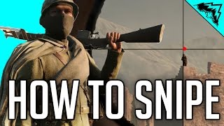 Battlefield 1 Sniper Tips - BF1 Gameplay Sniping Tips (Sniper Shield,