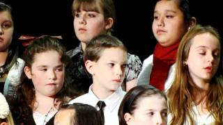 Shalom My Friend  Chapman 6th grade choir  December 2011