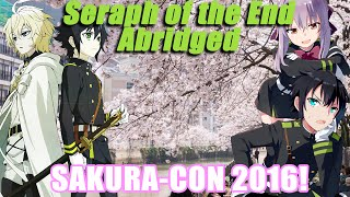 Seraph of the End Abridged: Interviewing at Sakura-Con!