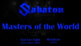 Watch Sabaton Masters Of The World video