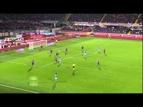 Fiorentina-Napoli 0-1 11a giornata Serie A TIM 2014/2015 Sitnesi (4 min)