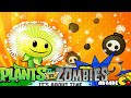 Plants Vs Zombies 2: New Plants Dandelion Team Up Carrot Launcher (China Version)