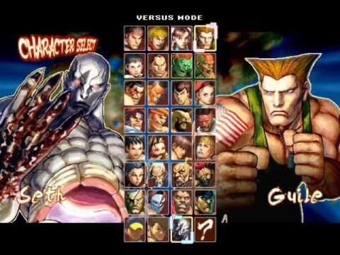Seth for my Street Fighter IV MUGEN Game