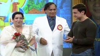 "Aamir Khan in ""Sahyog - Sahyadri Sindhu Awards Nite"" 2014"