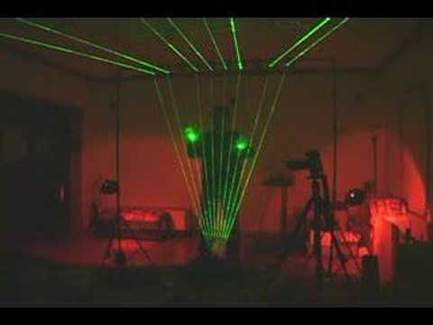Laser Harp Fully Functional Video