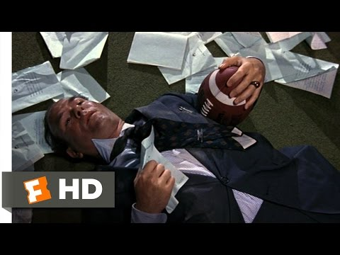 Necessary Roughness (8/10) Movie CLIP - Taking Out The Dean (1991) HD