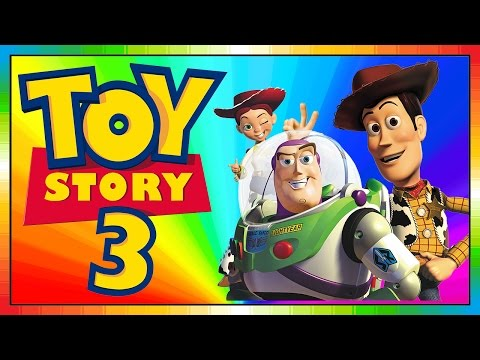 Toy Story 3 - FRANÇAIS - kids movie - Woody & Buzz Lightyear - Pixar & Walt Disney (Videogame)