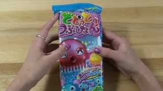 Dodotto Tsubupyon / Octopus Poop DIY Japanese Candy Kit Tutorial | How To