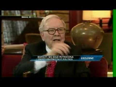 Warren Buffet on PetrolChina and his strategy
